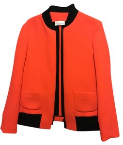 Valentino Coral/with black trim Jacket