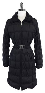 Neiman Marcus Black Coat