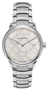 Burberry The Classic Round Stainless Steel Men's Burberry Watch BU10004