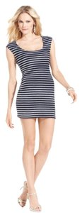 Guess short dress Blue, White, Red on Tradesy