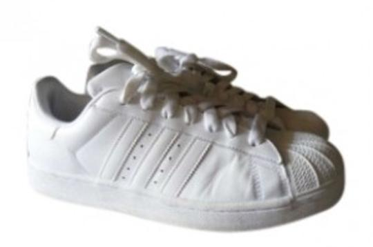 adidas White shell tops Athletic