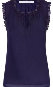 Diane von Furstenberg Top Midnight blue