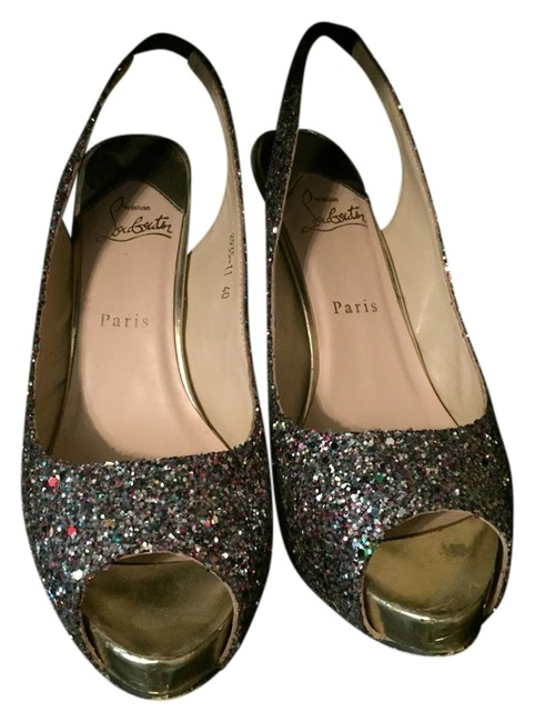 Item - Glitter Multi No Prive Formal Shoes Size US 8.5