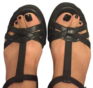 Biviel Black Sandals