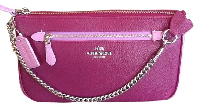 Item - Pink Leather Baguette