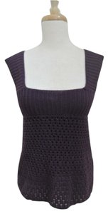 A.P.C. Square Neck Crochet Sweater