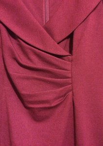 Kay Unger Dark Fuschia Dress