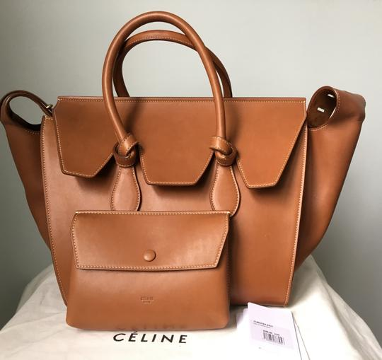 Céline Knot Camel Natural Tote in Saddle tan Celine Image 1
