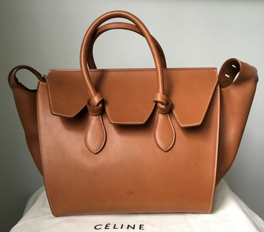 Céline Knot Camel Natural Tote in Saddle tan Celine Image 2