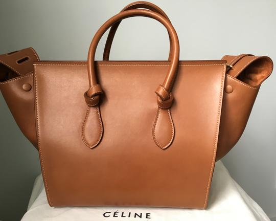 Céline Knot Camel Natural Tote in Saddle tan Celine Image 3