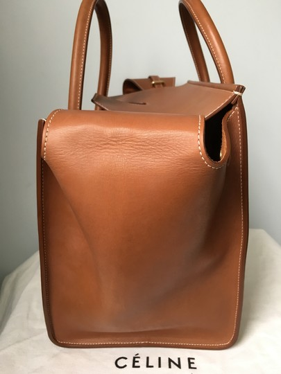 Céline Knot Camel Natural Tote in Saddle tan Celine Image 5