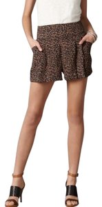 Ann Taylor LOFT Dress Shorts Black and cream