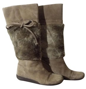 Nine West Oliver green Boots