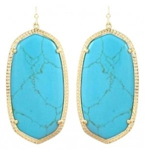 Kendra Scott Kendra Scott Elle earrings in Turquoise