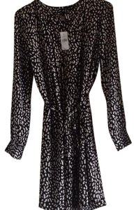 Ann Taylor LOFT short dress Black and White. on Tradesy