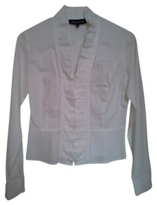 Jones New York Office Clothes Light Spring White Jacket