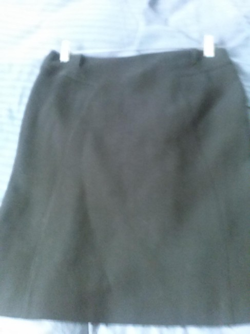 Item - Black Made In Italy Short Wool Skirt Size 8 (M, 29, 30)