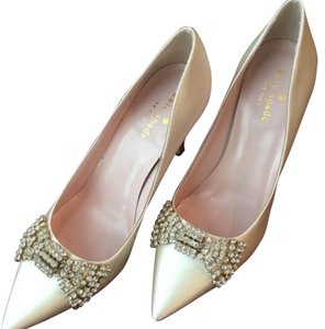 Kate Spade Wedding Wedding Heels Ivory Pumps
