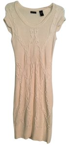 White/Cream Maxi Dress by Moda International