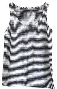 J.Crew Top Navy / white
