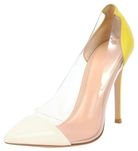 Gianvito Rossi Yellow Pumps