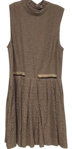 Juicy Couture short dress Tan, Black on Tradesy