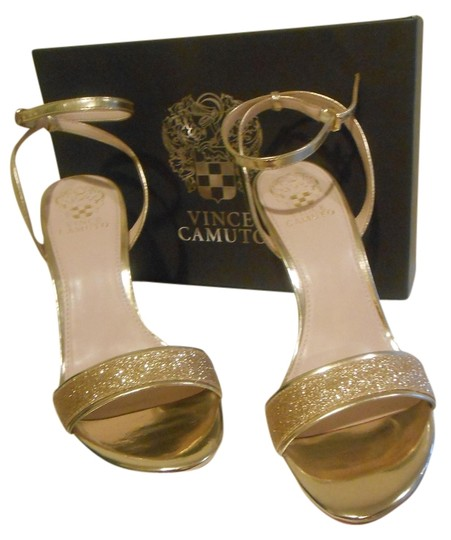 Vince Camuto Gold Pumps