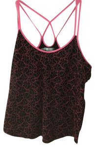 Maurices Top Black and pink