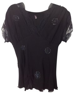 Hale Bob Beaded. Sequin. Top