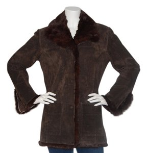 Adler Collection Leather Chocolate Brown Jacket