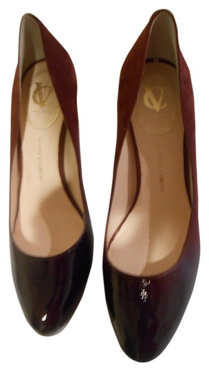 Vince Camuto Browynn Pecan Red Pumps