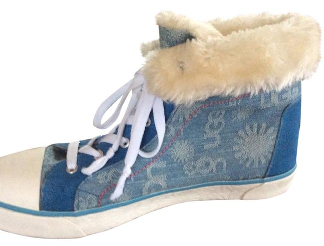 Item - Denim with Pure Inside Sneakers Size US 9 Regular (M, B)