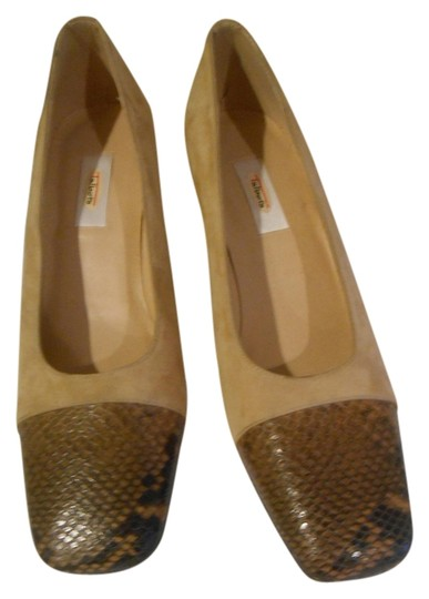 Talbots Taupe Pumps Image 1
