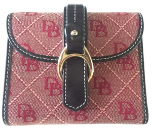 Dooney & Bourke Dooney and Bourke Leather/Canvas Wallet