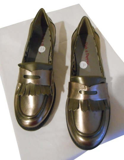 Pink & Pepper Pewter Flats