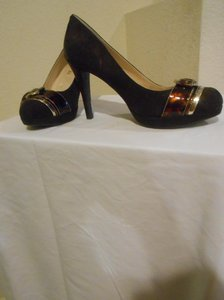 Unisa Brown/Dark Pumps
