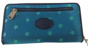 Fossil Fossil Nylon Stars Zipped Wallet