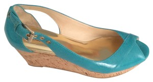 MICHAEL Michael Kors Turquoise / blue Wedges