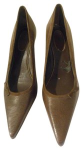 Ralph Lauren Brown/Dark Pumps