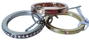 Coach Coach Stackable Ring Set