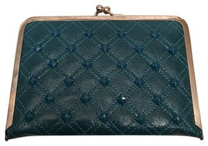 Other Teal Kiss Lock Wallet
