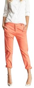 Current/Elliott Boyfriend Pants Bright Coral
