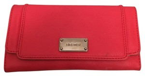 Nine West Pink Snap Large Wallet