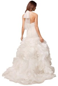 White By Vera Wang Vera Wang Halter Neck Dress Wedding Dress