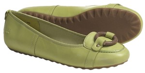 Timberland Light Green Nubuck Flats