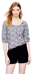 J.Crew Vintage Pattern Top Liberty Peasant