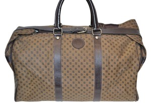 Fendi Vintage Travel Gym Brown Travel Bag