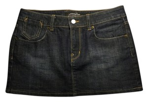 London Jean Mini Skirt