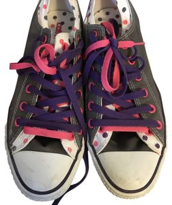 Converse Grey/pink/purple Athletic