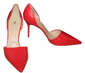 J.Crew Ornamental Red Pumps